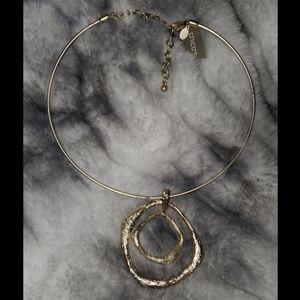 Chico's Amina Coil Adjustable Necklace